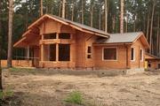 Строительство Деревянных домов из клееного бруса,  финские дома